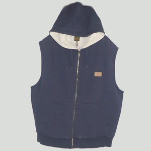 Timberland hooded vest waffle thermal inside VG L